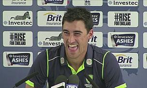 Video - Pietersen, Starc On Day Three