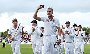 Broad Leads England To Dramatic  Win