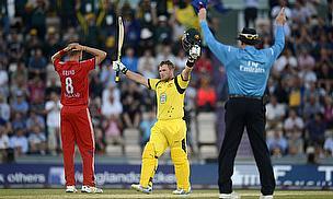 Finch Breaks Record As Australia Win