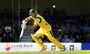 Shaun Marsh bats for Australia