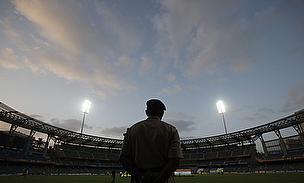 The Wankhede Stadium in Mumbai