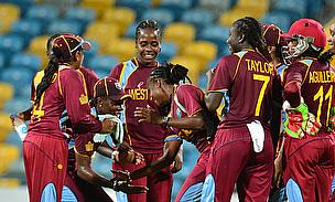 West Indies Women celebrate