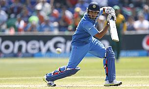 Rohit Sharma drives