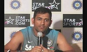 Video - MS Dhoni Lauds 'Star' Sachin Tendulkar