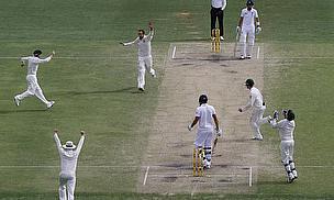 Australia celebrate in Brisbane