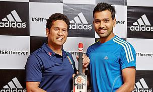 Sachin Tendulkar, Rohit Sharma, adidas