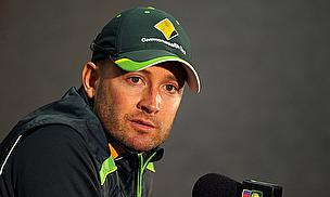 Michael Clarke During The Press Conference