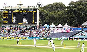 Alastair Cook was out early when he was dismissed by Mitchell Johnson