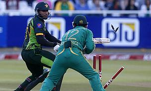 Nasir Jamshed is stumped