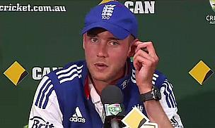 Stuart Broad admits England had a bad day in Perth