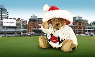 Seasonal greetings to everyone from all the staff at Cricket World.