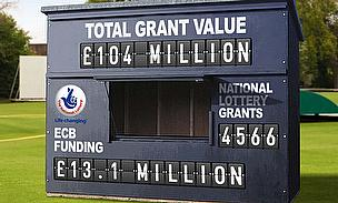 The National Lottery has funded cricket to the tune of well over £100 million