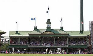 Ashes Test match in Melbourne
