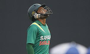 Mushfiqur Rahim looks skywards