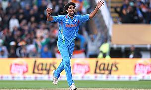 Ishant Sharma celebrates a wicket