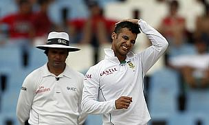 JP Duminy scratches his head