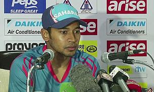 Mushfiqur Rahim at a press conference