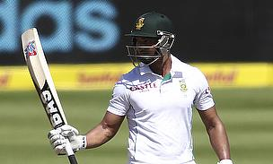 Alviro Petersen raises his bat