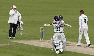 Durham players celebrate