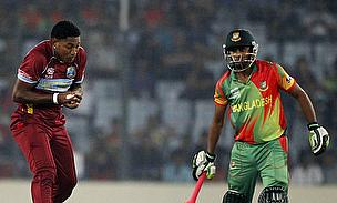 West Indies playing Bangladesh