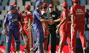Rajasthan Royals, Royal Challengers Bangalore
