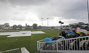 Rain stops play in county cricket