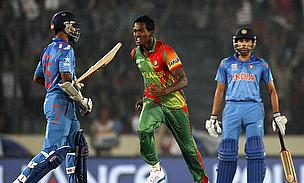 Bangladesh celebrate against India