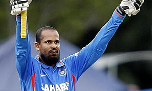 Yusuf Pathan struck a 15-ball half-century for Kolkata