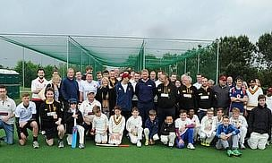 Matthew Hoggard helped Caldy CC open their new nets
