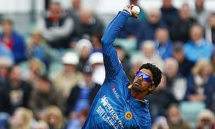 Sachithra Senanayake has been reported for a suspected illegal bowling action
