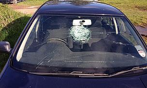 Ball + windscreen = serious problem