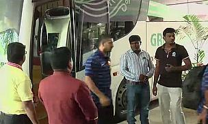 India arrive in Bangladesh