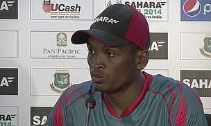 Al-Amin Hossain admits Bangladesh batting too slowly