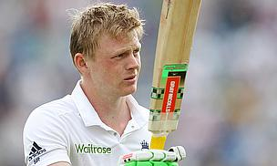 Sam Robson scored his maiden Test century on day two at Headingley