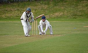 Mo Ali batting during his innings of 93