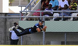 Trent Boult took a stunning catch but ended up on the losing side