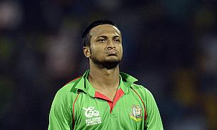 Shakib Al Hasan reacts