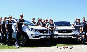 England Women and new official partners Kia