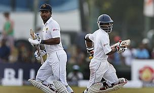 Kumar Sangakkara and Kaushal Silva
