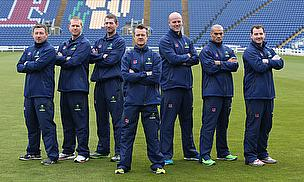 Glamorgan's coaching team