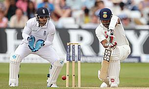 Action from the first Test at Trent Bridge