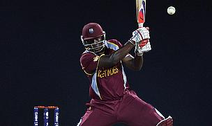 Andre Russell hits out for the West Indies