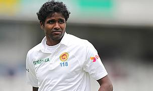 Shaminda Eranga has been ruled out of the second Test and replaced in Sri Lanka's squad by Lahiru Gamage