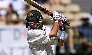 Greg Blewett during a Test match