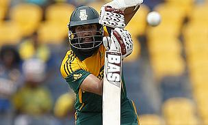 Hashim Amla scored 122 not out in 132 balls for South Africa