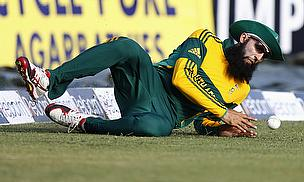 Hashim Amla will miss the third and final One-Day International in Bulawayo
