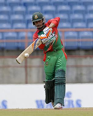 Anamul Haque struck a century for Bangladesh but it proved to be in vain