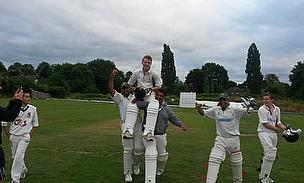Knowle & Dorridge's Joe Craven (hoisted aloft) is among our performances of the week