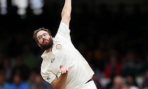Daniel Vettori bowls at Lord's