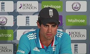 Alastair Cook admits his side's poor batting is hurting England